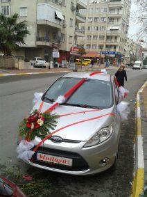 Antalya Gelin Arabası Süsleme | Ürün Kod Gas01