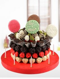Doğum Günü Tatlı Meyve Pasta Ms08